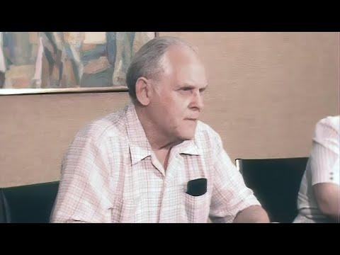 Пресс-конференция Генсека компартии США Гэса Холла 15.08.1986