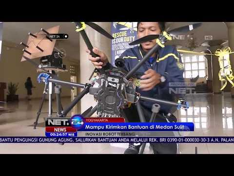 Robot Terbang Pengirim Bantuan Bencana Karya Mahasiswa UGM - NET24