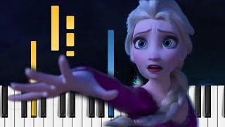 Frozen 2 - Into the Unknown - EASY Piano Tutorial / Piano Cover