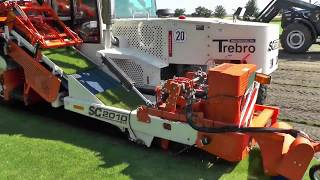 World Modern Artificial Turf Sod Installer Intelligent Technology Progress Mega Machines Tractor
