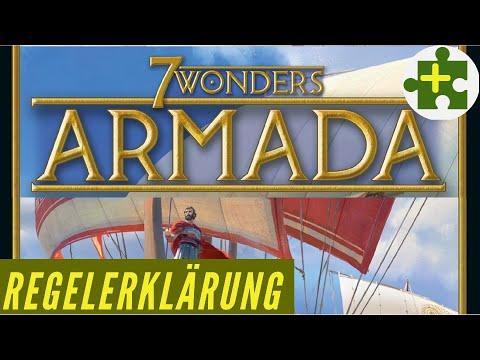 7 Wonders - Armada Erweiterung - Regelerklärung / Anleitung - Kennerspiel 2011