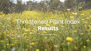 The Threatened Plant Index of Australia: 2020 results