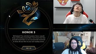 Imaqtpie Shows How to Get Level 3 Honor | Faker
