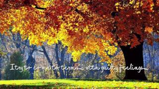 Autumn Years (Lyrics) - Clark Datchler