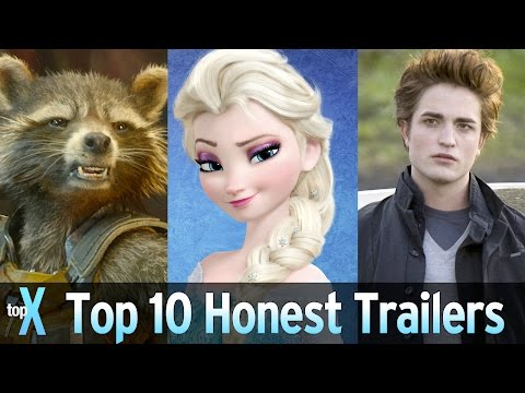 Top 10 Honest Trailers Videos – TopX Ep. 36