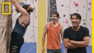 Climbing Gym Heroes | Free Solo