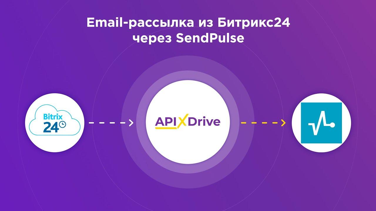 Как настроить Email-рассылку в Bitrix24 через сервис SendPulse?