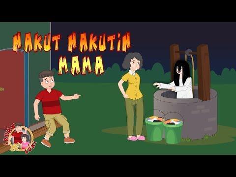 Hantu dari dalam sumur   kartun anak horor lucu   irpan dan luki
