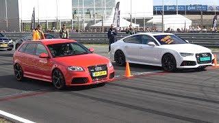 Audi RS7 Sportback vs Audi RS3 Sportback
