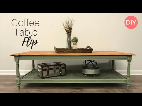 Coffee Table Flip | Goodwill Furniture Flip | DIY | Ashleigh Lauren Tutorials | Farmhouse Style