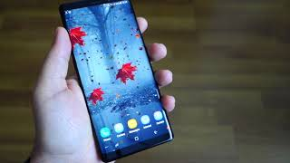 Note 8 and the best 3D Wallpaper Parallax 2018 - review + how to create 3D parallax wallpaper