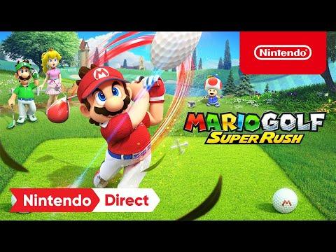 Mario Golf: Super Rush : Announcement Trailer – Nintendo Switch