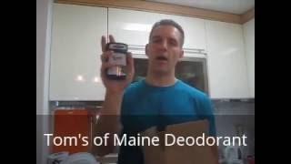 Tom's of Maine Aluminum-Free Deodorant Review