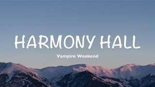 Gambar cover Vampire Weekend - Harmony Hall (Lyrics | Cover by Dylan Gardner)