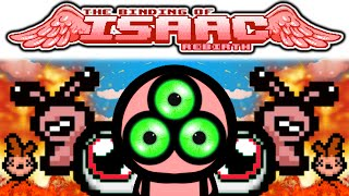 The Binding of Isaac REBIRTH: TRIPLE SHOT + SPLIT SHOT + GIANT TEARS