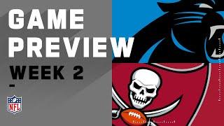Carolina Panthers vs. Tampa Bay Buccaneers Week 2 NFL Game Preview