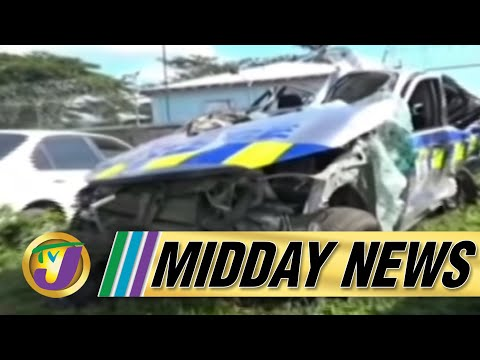 TVJ Midday News: Police Involved in Accident Died - January 10 2020