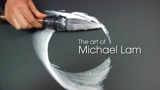 Artist Michael Lam January 2015 Exhibition At Agora Gallery