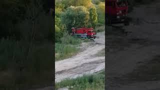 На Намыве в Николаеве спецтехника сливает фекалии в Бугский лиман. Видео