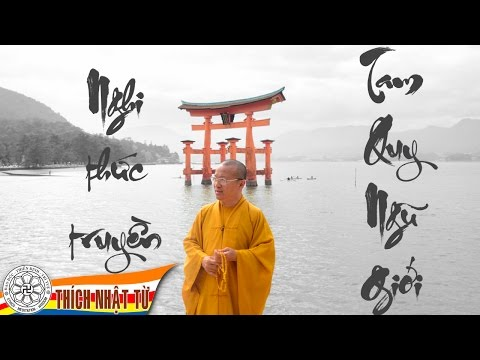 Nghi thức truyền Tam Quy Ngũ Giới (20/11/2010) Thích Nhật Từ