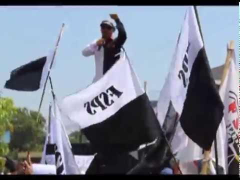 PROTES UPAH DI BAWAH UMK DAN TIDAK MENDAPAT FASILITAS BPJS