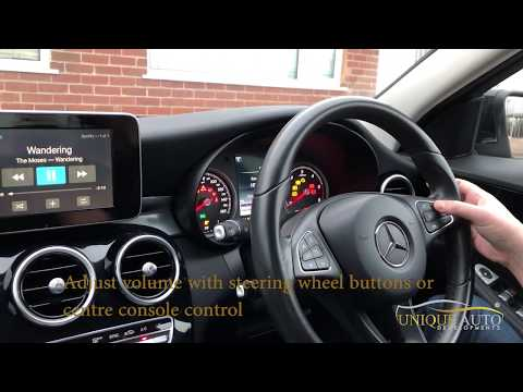 Mercedes Wireless CarPlay Demonstration NTG 5 Unique Auto Developments