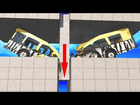 BeamNG Drive - CUT the Car! #4 (Cars cutting crashes)