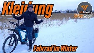 Winter / Regenkleidung zum Fahrradfahren und Pendeln - 3 Möglichkeiten - vit:bikesTV