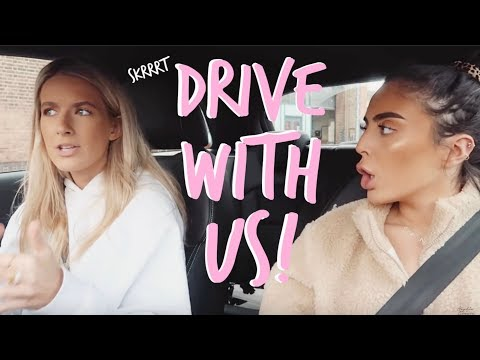 COME FOR A LITTLE DRIVE WITH US! | Sophia and Cinzia