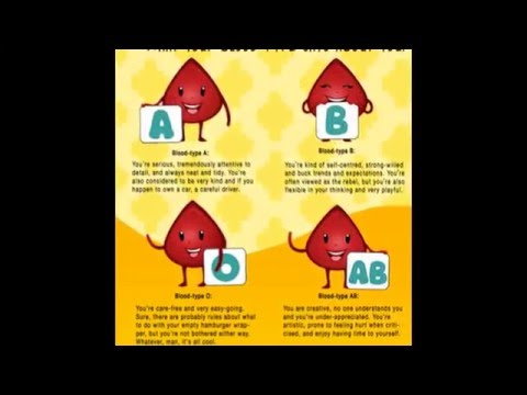 Video What your blood type says about you