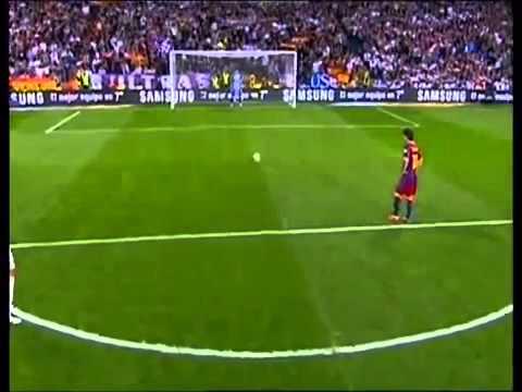 Real Madrid 1-1 FC Barcelona - Highlights - 2011