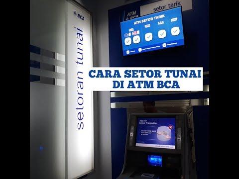 Cara setor tunai di Atm BCA