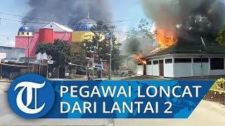 Supermarket Dibakar saat Kerusuhan di Wamena Papua, Pegawai Loncat dari Lantai 2 Menyelamatkan Diri