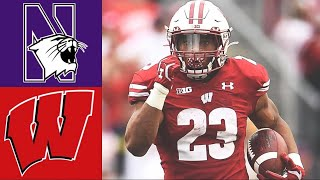 Northwestern vs #8 Wisconsin Highlights | NCAAF Week 5 | College Football Highlights