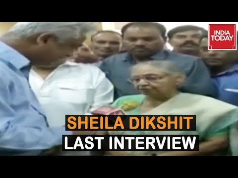 Where Does This Energy Come From? Sheila Dikshit Speaks To India Today In Her Last Interview