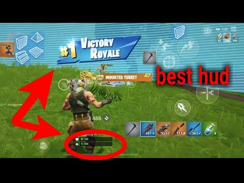 best hud layout for fortnite mobile iphone 6s