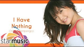 Charice Pempengco - I Have Nothing (Audio) 🎵 | Charice