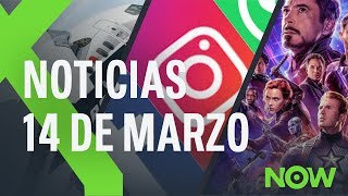 FACEBOOK, INSTAGRAM y WHATSAPP se caen y BETA de ANDROID Q y TRAILER de LOS VENGADORES | XTK Now!
