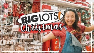 BIG LOTS SHOP WITH ME 2018   SHOPPING FOR CHRISTMAS DECOR AT BIG LOTS!   Page Danielle