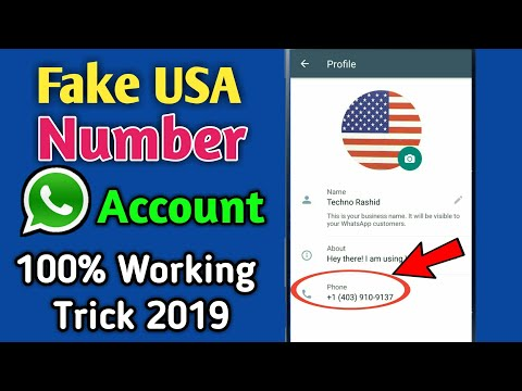 How To Create WhatsApp Account With Fake Number 2019