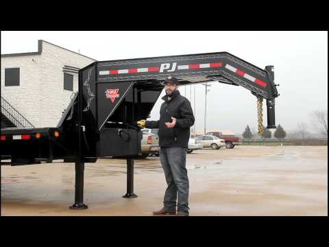2019 PJ Trailers Low-Pro Flatdeck with Duals (LD) 32 ft. in Hillsboro, Wisconsin - Video 2