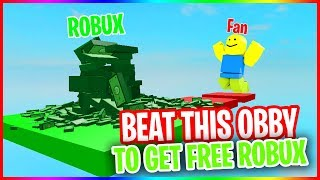 free robux obby link - TH-Clip
