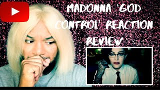 Madonna #GodControl Music Video REACTION|REVIEW