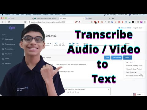 How to Transcribe Audio And Video to Text (Video Transcription Guide)