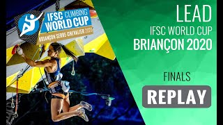 IFSC Climbing World Cup Briançon 2020 - Lead Finals by International Federation of Sport Climbing