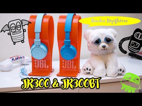 JBL JR300 & JR300BT | Kinder Kopfhörer mit und ohne Bluetooth | Deutsch | 2018