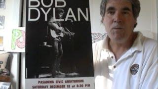 Bob Dylan Concert Posters 1965 Window Cards - Folk-Rock