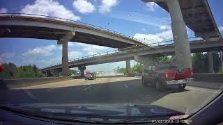 accident in interstate 10 Houston TX
