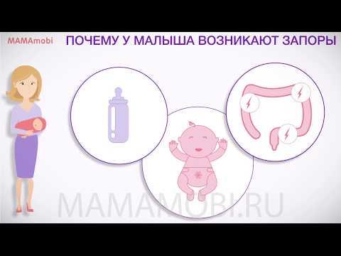 Запоры у малышей - что делать? MamaMobi 2018