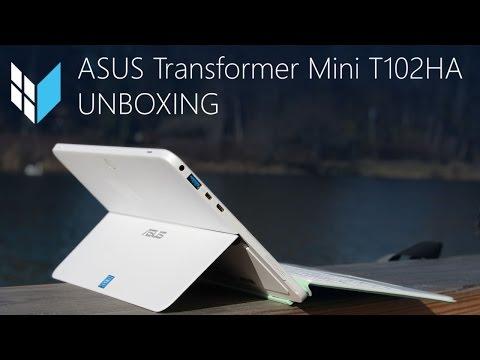 ASUS Transformer Mini T102HA Unboxing und erster Eindruck (Deutsch / 4K)